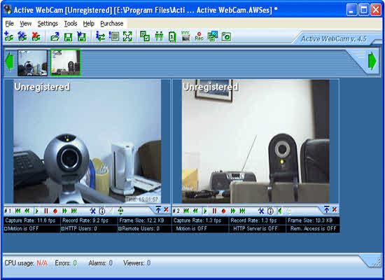 Active webcam 2016