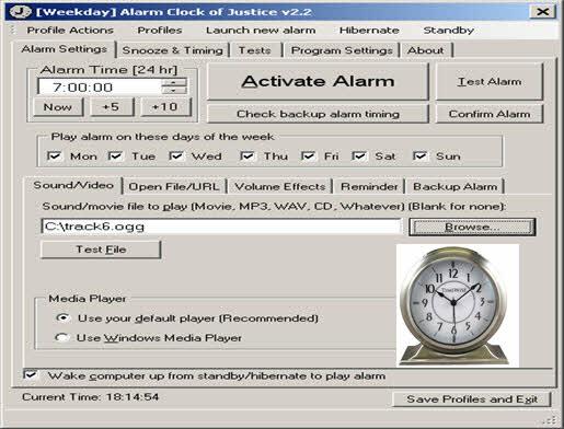 Alarm Clock of Justice 2016