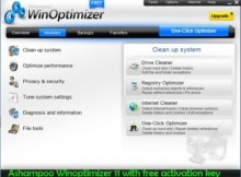 Ashampoo WinOptimizer 11 Serial Key