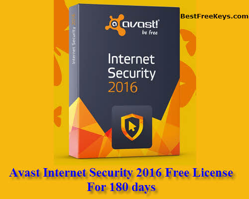 Avast Internet Security 2016 Key