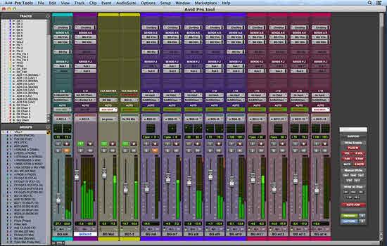 Avid Pro tool 2016