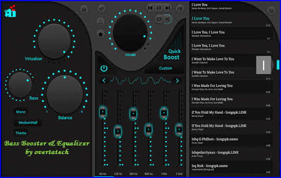 Bass Booster and Equalizer by overtatech