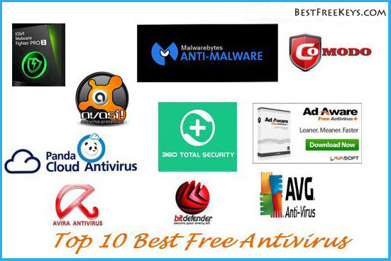 Top 10 Best Free Antivirus Software 2018