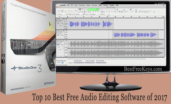 Best Free Audio Editing Software 2017