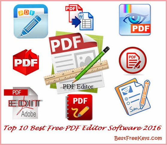 10 Best Free PDF Editor 2017 To Edit PDF Files Fast