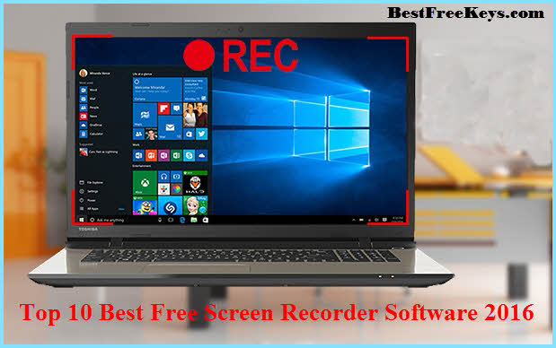Windows 10 free screen recorder - YouTube