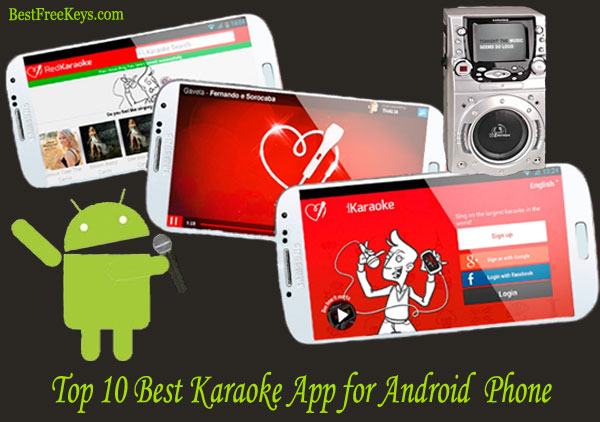 Best Karaoke App for Android Free