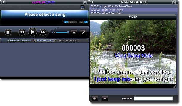 Best Karaoke software Walaoke