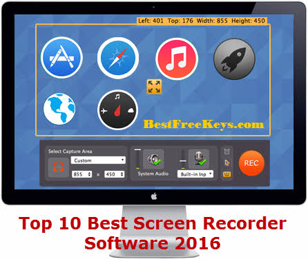 10 best screen recorder software 2017 expert 39 s reviews for Window recorder