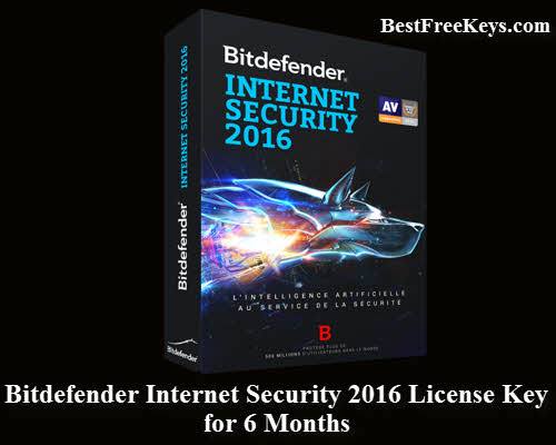 Bitdefender Internet Security 2016 Key