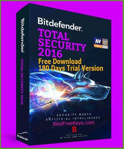 Bitdefender Total Security 2016 Serial Key Free