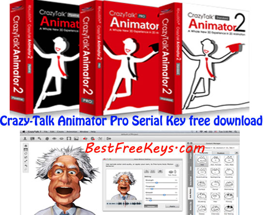 Crazy Talk Animator Pro Serial Key