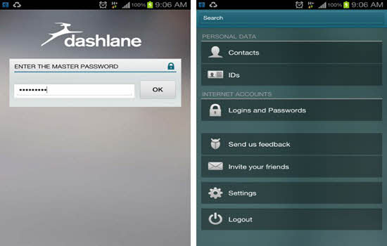 Dashlane Password Keeper 2016