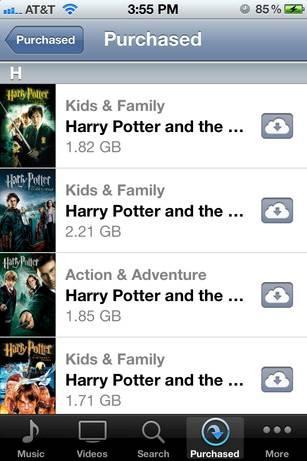 Download Movies via iTune