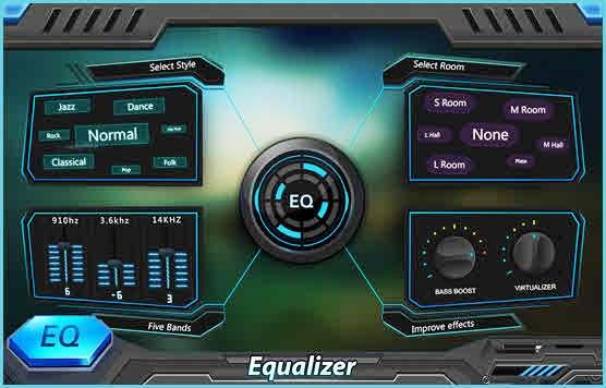 EQ & Bass Booster Pro- Metal