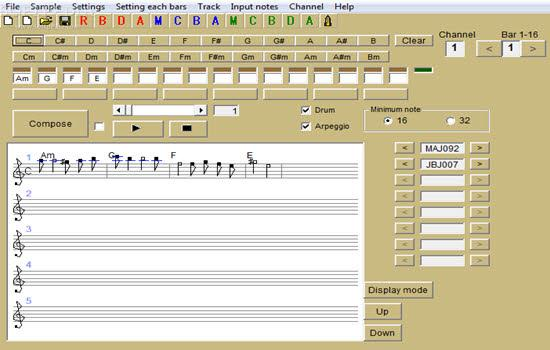 Easy Music Composer Free