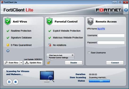 Forti-Client-Lite