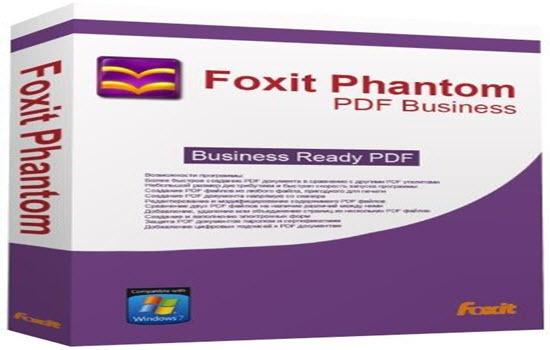 Foxit Phantom Free PDF Converter 2016