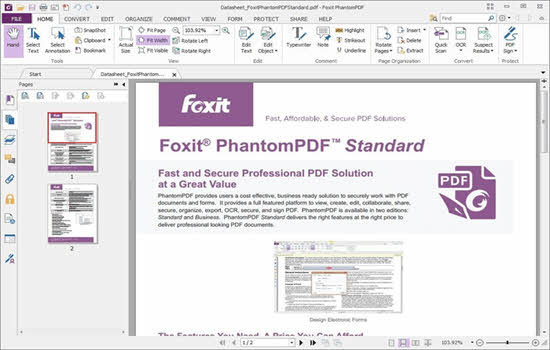 Foxit Phantom PDF Standard 2016