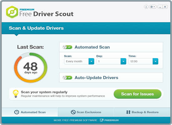 Free Driver Scout 2016