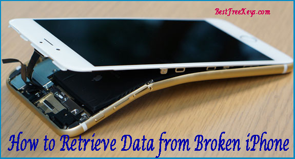 How to Retrieve Data from Broken iPhone