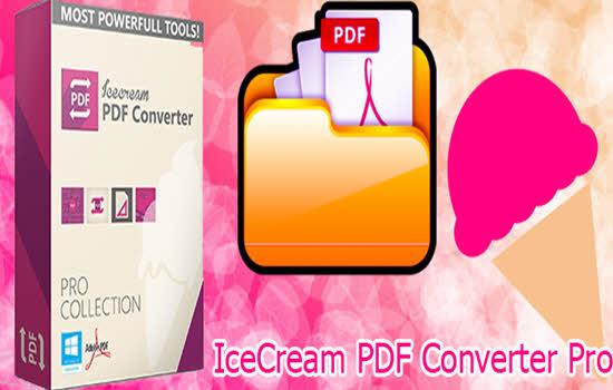 IceCream PDF Converter Pro 2016