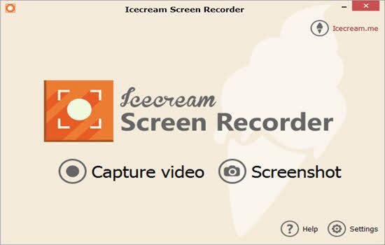 Icecream Screen Recorder 2016