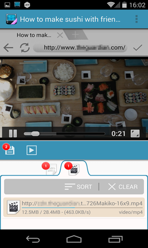 Install a video Download App