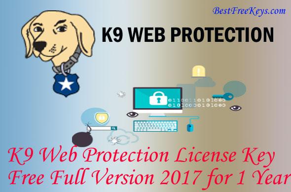 K9 Web Protection License Key