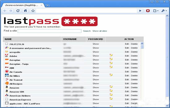 Lastpass Password Manager 2016