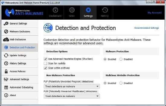 Malwarebytes-malware removeal tools