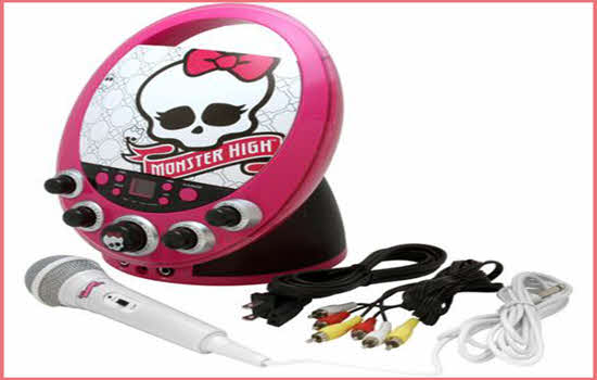 Monster High Karaoke Machine 2016