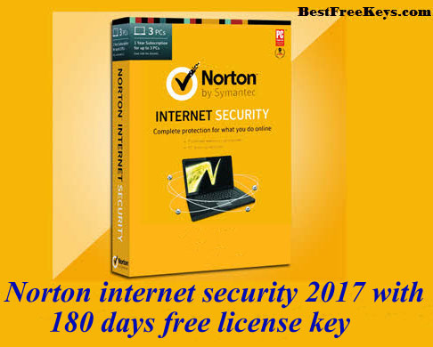 Norton Internet Security 2017 Key