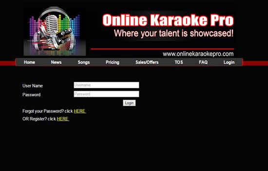 Online Karaoke Pro 2016