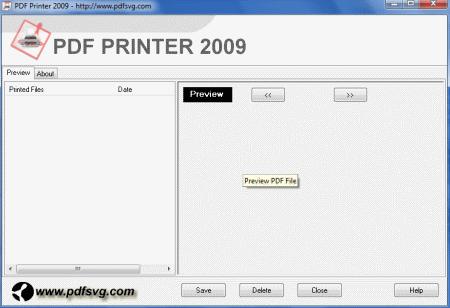 PDF Printer 2009 2016