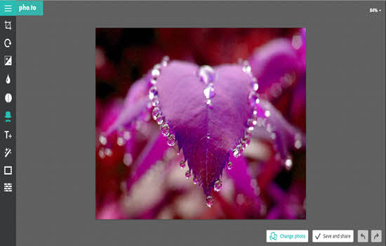 Pho.to Online image Editor 2016