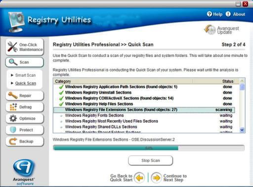 Registry Utilities