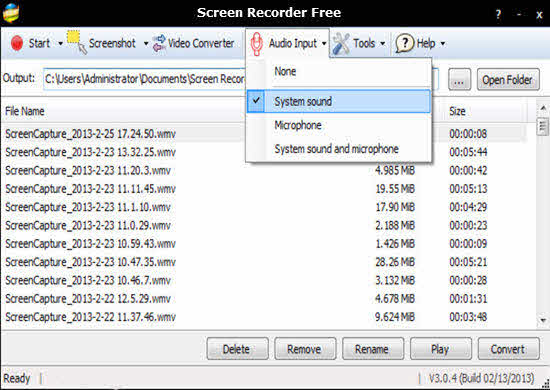 Screen Recorder Free 2016