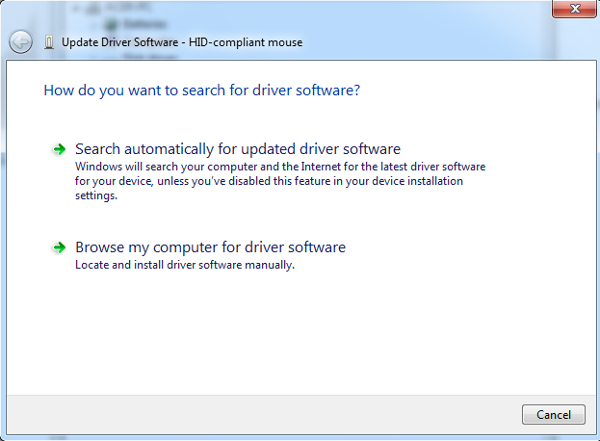 Search-automatically-updated-driver-software