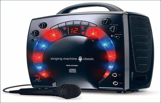 Singing Machine SML283BK 2016