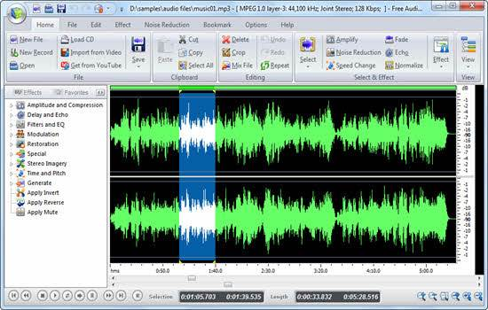 Swifturn Free Audio Editor 2016