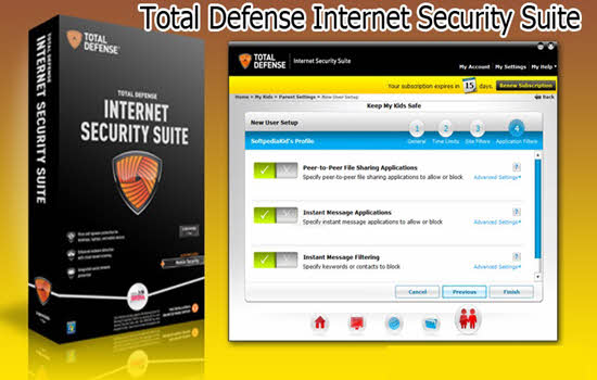 Total Defense Internet Security Suite 2016
