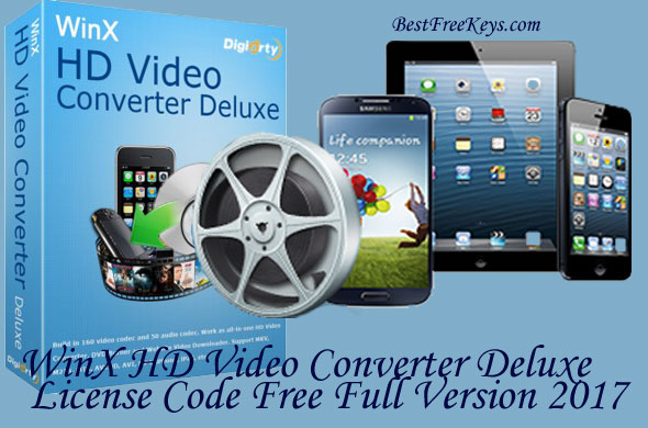 WinX HD Video Converter Deluxe License Code