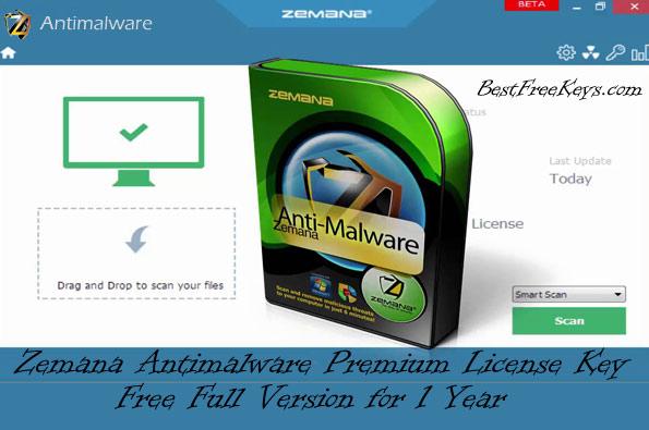 Zemana AntiMalware Premium License Key