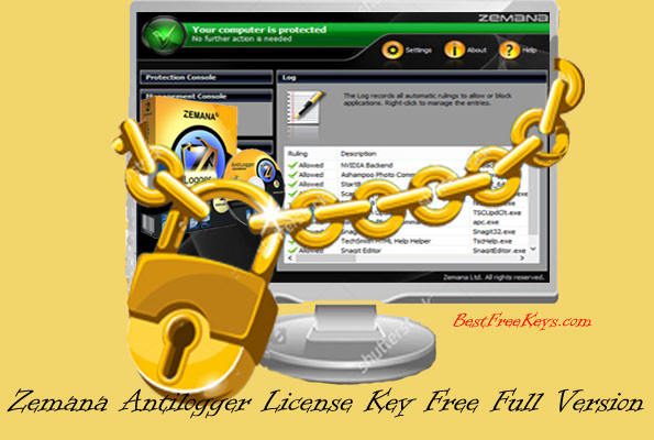 Zemana Antilogger License Key