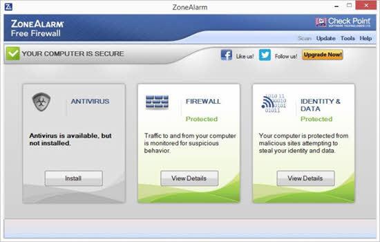 Zone Alarm Free Firewall 2016