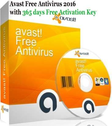 Avast Free Antivirus 2017 Activation Code Free Serial Key 1Yr