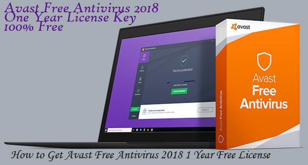 avast free antivirus activation code 2017