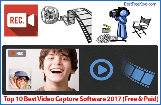 Best Video Capture Software 2017