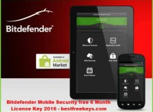 Bitdefender Mobile Security Key Free
